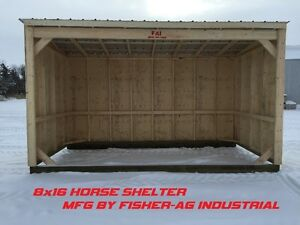 FOR SALE- Run in Horse Shelters