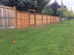 Professional Fence / Deck Design and Installation  Cambridge Kitchener Area image 2