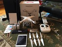 DJI Phantom 3 Advanced with lots of extras (Drone, Quadcopter)