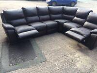 Harvey's langdale corner reclining sofa ex display model