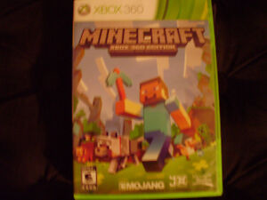 XBOX 360 Minecraft Game for Sale