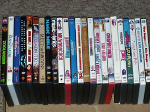 24 DVD Movies Dark Knight, Bridget Jones, Magic Mike and more