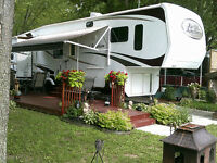"FIFTH WHEELS 37' 2007 Haut De Gamme ""Grand Junction"" 'Gel-Coat''"