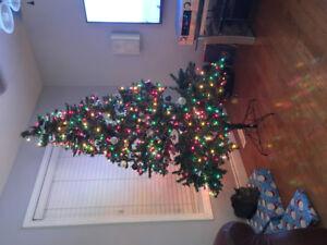 nice lite christmas tree