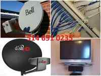 satellite installation Bell Dish network Fta