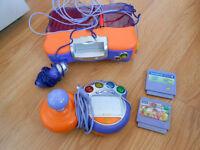 Console V-Smile avec 2 jeux + 1 manette + 1 micro