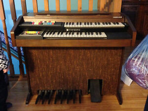 Hammond Organ & Bench