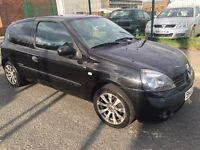 Renault Clio 1.2 16v extreme 2005 90000 ££495