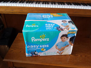 72 Boys Pampers Easy Ups - Size 3T - 4T - NEW in Sealed Box