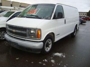 2002 Chevy Express 2500 cargo van