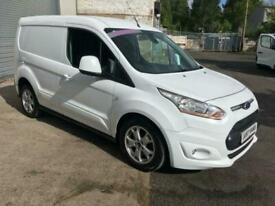 65 TRANSIT CONNECT LIMITED 1.6TDCI 115PS 3 SEATER AIR CON,ALLOYS