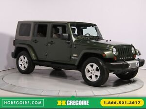 2008 Jeep Wrangler Unlimited Sahara 4WD A/C MAGS