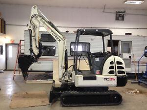 2009 Terex TC35 Mini Excavator