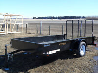 "New Canadian Made ""Rainbow"" Utility Trailers Red Deer Alberta Preview"