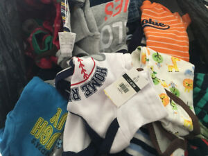 Newborn and up baby boy clothes 85 plus pieces