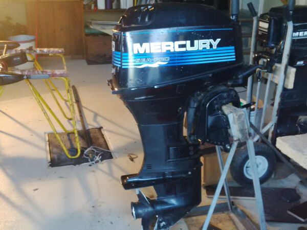 Used 2002 Mercury Sea Pro 30Hp
