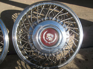 Cadillac Wire Wheel covers/hub caps