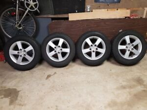 Snow Tires Great Shape