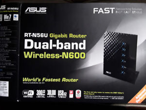 ASUS RT-N56U Dual Band Gigabit Wireless N600 Router