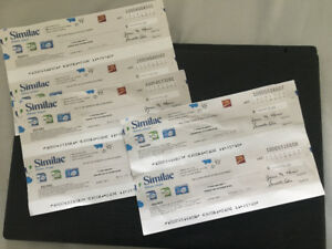 Similac Coupons (6) - trade for Enfamil Coupons
