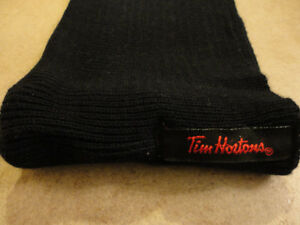 Brand new Tim Hortons black cable knit neck warmer London Ontario image 7