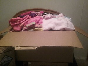 Over-stuffed box FULL of great condition & quality clothes!!
