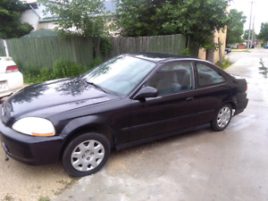 99 civic safetied  clean title  ((  DEAL)) $2700