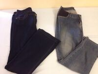 Maternity jeans ( + free tops & bump bands)