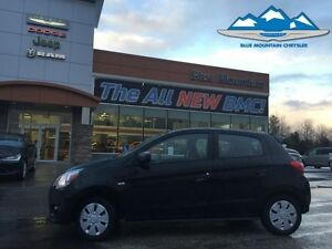 2015 Mitsubishi Mirage DE  ACCIDENT FREE, FUEL SAVER, BLUETOOTH,