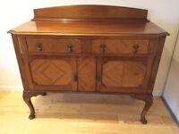 Vintage sideboard antique queen Ann shabby chic