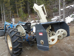 5' buhler snowblower for 3 point hitch tractor