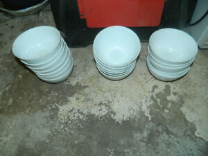Dishes bowls