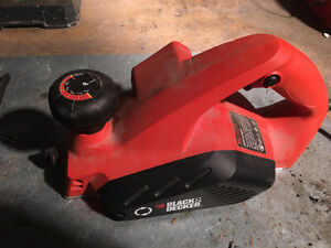 Back and Decker power hand planer