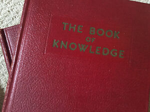 1946 Groliers Book Of Knowledge Complete Set