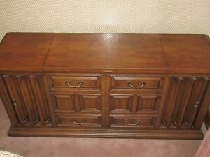 Mid Century Console Stereo by Zenith Allegro