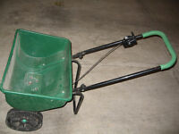 PRECISION LAWN SPREADER