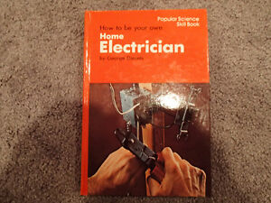 Popular Science Skill book - How to be your own Home Electrician