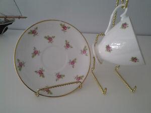 Vintage Bone China Tea Cup Sets & Creamer & Covered Mugs