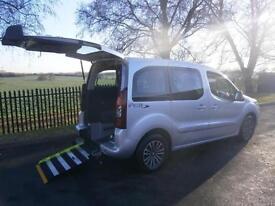 2012 Peugeot Partner Tepee HORIZON S AC WHEELCHAIR ACCESSIBLE VEHICLE 5 door ...