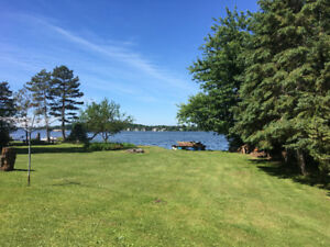 New Price!! Waterfront building lot on Lake Scugog!