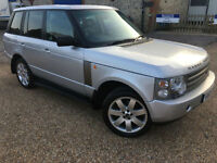 2004 '53' Land Rover Range Rover 4.4 V8 AUTOBIOGRAPHY. L322. Automatic. Px Swap