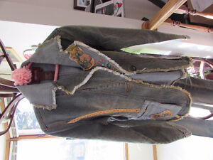 Small Chagall Denim Jacket and Jeans, Size 7 Suzy Shier Pants