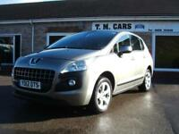 2012 (12) Peugeot 3008 Crossover 1.6HDi Active II 5d