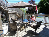 Complete patio set (moving must sell)