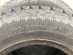 Winter snow tires for sale.