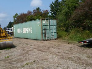 Used Shipping and Storage Containers Sea Cans Available Belleville Belleville Area image 3