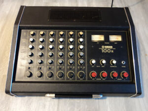 Vintage Yamaha Em-100ii 6 Channel Integrated Mixer 100 W