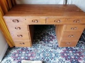 Ercol Kneehole Desk