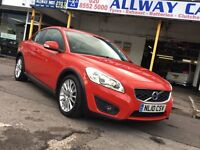 2010 Volvo C30 1.6D LUX e drive, Full Volvo Service History, 1 Owner from New, MOT till 2017