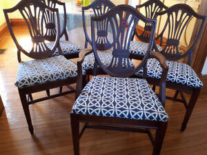 Beautiful Antique Mahogany Chairs